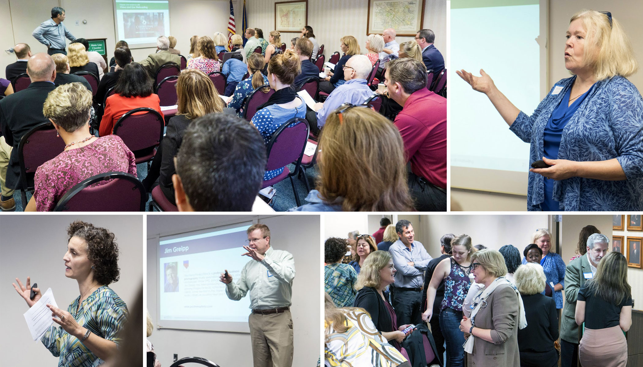 """More than 50 people attended the first MarCom Alliance """"Engagement Road Show"""" event at the Main Line Chamber of Commerce."""
