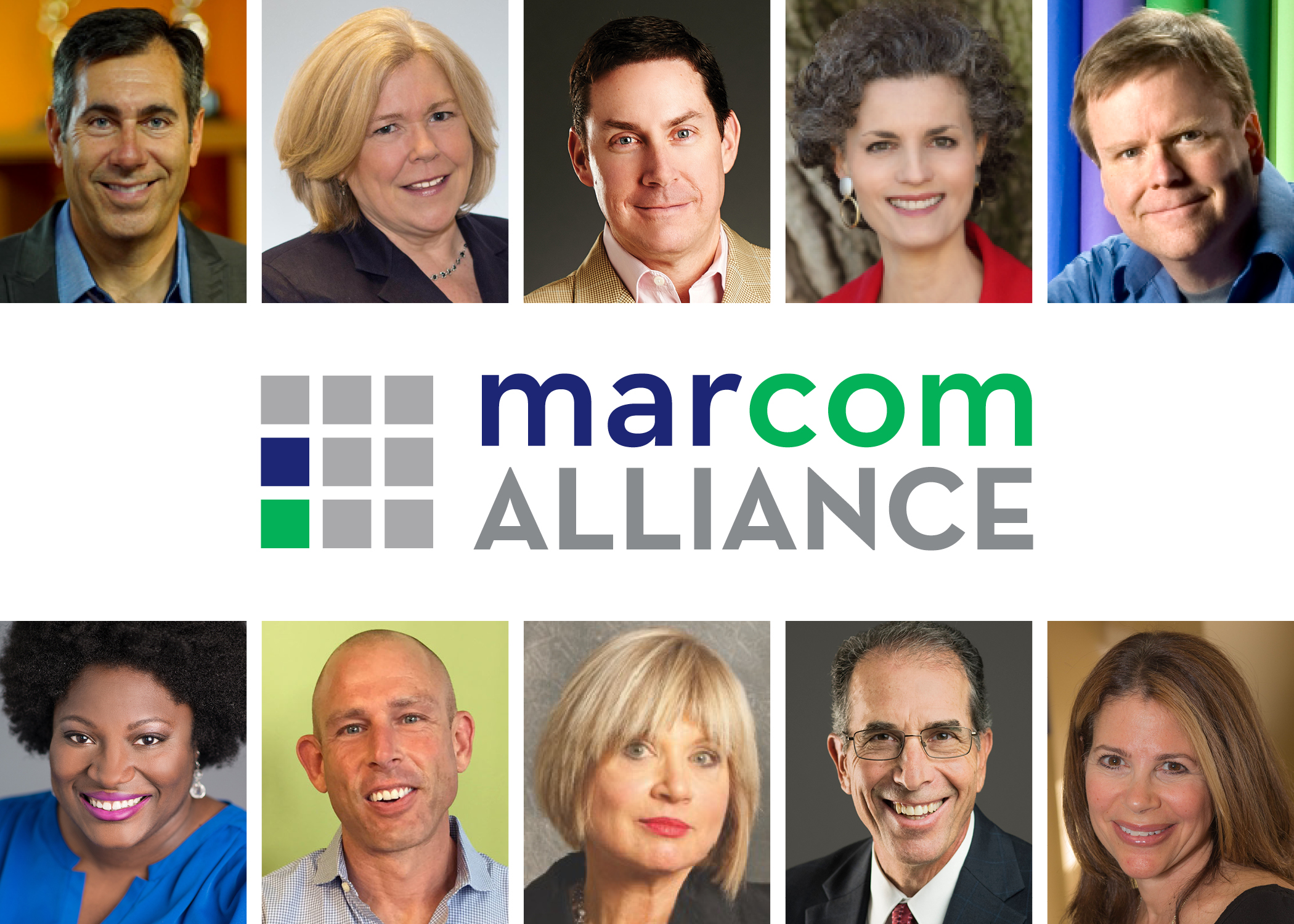 The 10 partners in the new MarCom Alliance
