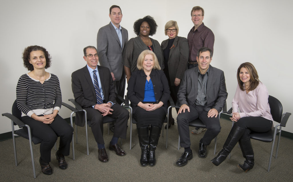 Portrait of 9 partners in the MarCom Alliance