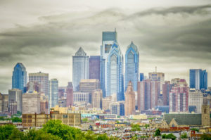 Iconic image of Philly skyline used by PA Marketing Summit